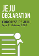 Final Declaration of the Congress of Jeju