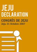 Declaration Finale du Congres de Jeju