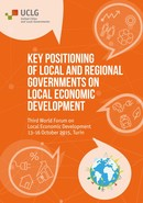 Key positioning of local and regional governments on Local Economic Development