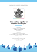 Marrakech Mayors Declaration:  Cities working together for migrants and refugees