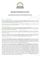 Marrakech Roadmap for Action