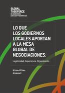 Lo que los gobiernos locales aportan a la mesa global de negociaciones