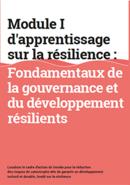 Modulo I d'apprentissage sur la résilience : Fondamentaux de la gouvernance et du développement résilients