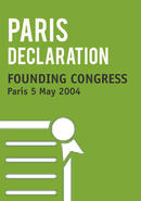 Founding Congress Final Declaration. Paris