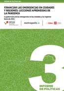 Informe de políticas #03 Financiar las emergencias en ciudades y regiones