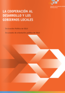 documento de orientación política de CGLU: La Cooperación al Desarrollo y los Gobiernos Locales,