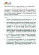 Contribución a la elaboración de la Agenda Global de los gobiernos locales y regionales para Habitat III
