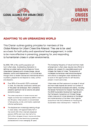 Global Alliance for Urban Crisis Charter