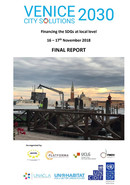 Final Report of the Venice 2030-Financing the SDGs