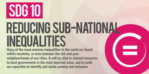 SDG10: Reducing sub-national inequalities
