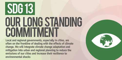 SDG13: Take urgent action to combat climate change and its impacts