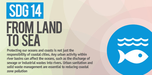 SDG14: Conserve and sustainably use the oceans, seas and marine resources for sustainable development