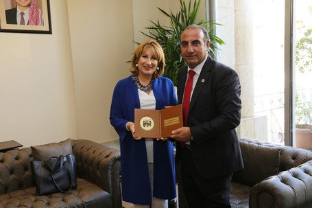 Strengthening links at the General Assembly of the Arab Towns Organization in Amman