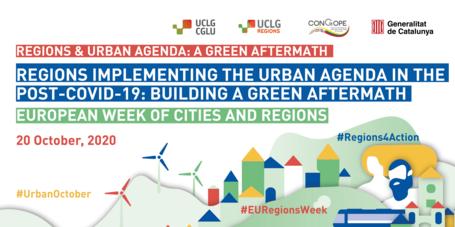 Side-event on Regions & Urban Agenda: a Green Aftermath