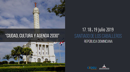 """Encuentro CIDEU 2019: """"Ciudad, cultura y Agenda 2030""""."""