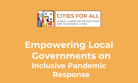 Cities Unite Around Inclusive Pandemic Response