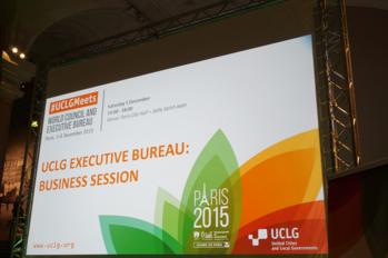 From cop to habitat iiiu d and the uclg executive bureau in paris