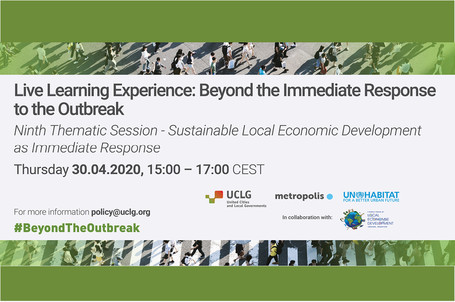 LLE Session Thematic - Sustainable Local Economic Development as immediate response