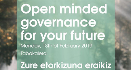 Open minded governance for your future Congress, Etorkizuna Eraikiz.