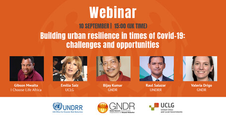 Webinar: Building urban resilience in times of Covid-19