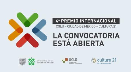 ¡La Convocatoria para el Premio Internacional CGLU – Ciudad de México – Cultura 21 está abierta!