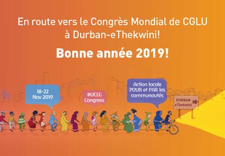 Message  de la secrétaire générale de CGLU pour la nouvelle année