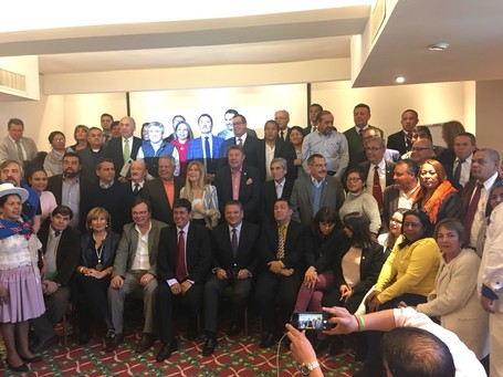 The XII Hemisferic Mayors Summit: the FLACMA membership is treading strong
