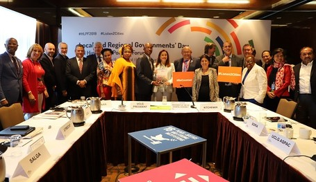 3rd LRG Report, Towards the Localization of the SDGs, launched at 2019 HLPF