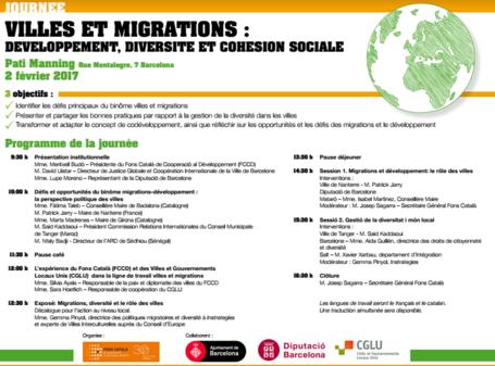 Jornada Municipios y Migraciones: desarrollo. Diversidad y cohesión social