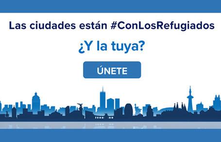 Las ciudades están #ConLosRefugiados