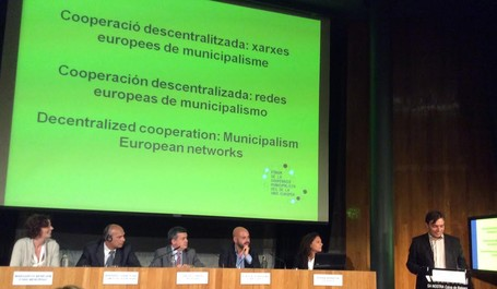 1st  Forum of Municipal Cooperation from the EU in Palma Mallorca.