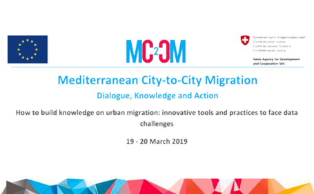 MC2CM - Peer to Peer learning: How to build knowledge on urban migration: innovative tools and practices to face data challenges