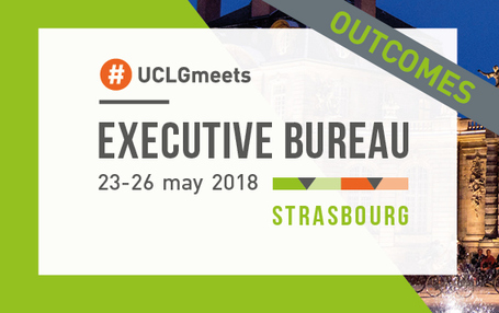 Outcomes UCLG Executive Bureau