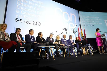 Paix, décentralisation, migration et état de la démocratie locale, temps forts de notre Conseil mondial à Madrid
