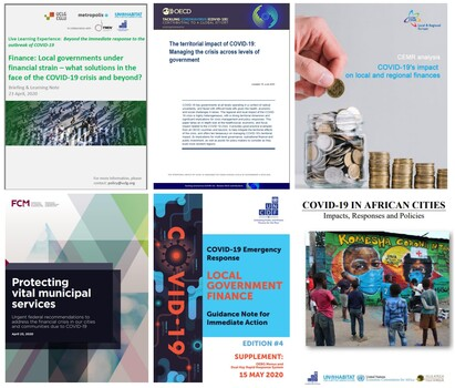 The UCLG network and its key partners put the spotlight on the impacts of COVID-19 on local finance