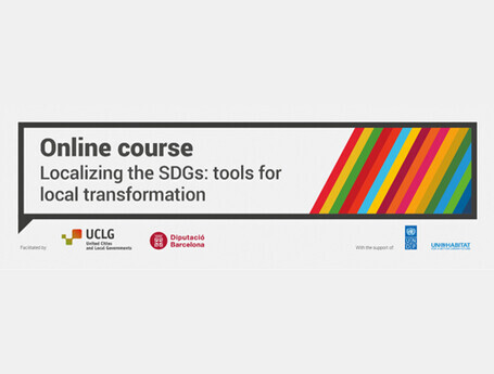 """Beginning of the online course : """"Localizing the SDGs"""""""