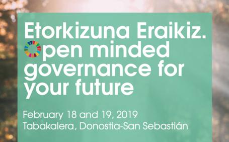 Etorkizuna Eraikiz. Una gobernanza abierta para el futuro