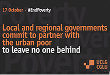 Local and regional governments commit to partner with the urban poor to leave no one behind