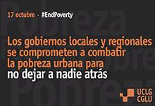 Día Internacional por la Erradicación de la pobreza