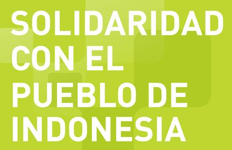 CGLU expresa sus condolencias al pueblo de Indonesia