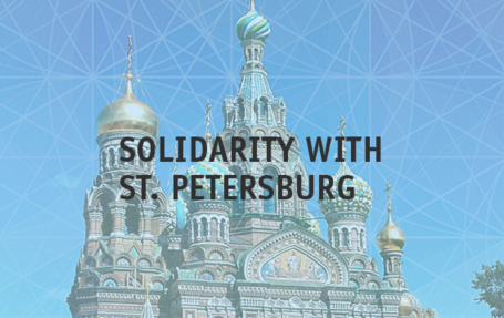 Solidarity after the St. Petersburg attack