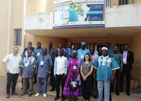 """The learning team of UCLG and UCLG Africa are engaging African drivers in the SDG """"Train"""""""
