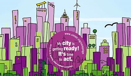 Making my city resilience campaign
