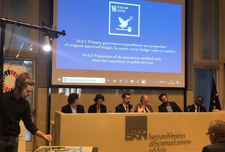 Venecia 2030, Un diálogo entre múltiples partes interesadas para mejorar la financiación local de los ODS