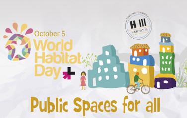 On World Habitat Day, local and regional governments celebrate the role of vibrant, safe public spaces in our cities