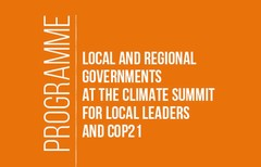 Programme Local and Regional Governments at the heart of sustainability and development