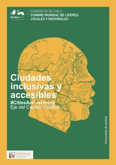 Ciudades Inclusivas y accesibles