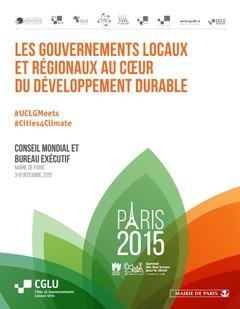 Les gouvernements locaux et régionaux au coeur du développement durable