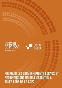 Dossier de Presse CGLU COP 21