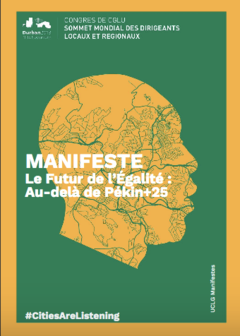 Manifeste - Le Futur de l'Égalité : Au-delà de Pékin+25